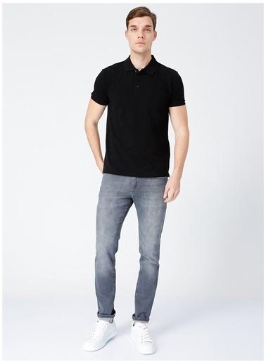 Fabrika Comfort Fabrika Comfort Siyah Erkek Cepli Polo T-Shirt Siyah